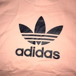 adidas Sweaters - ADIDAS peach sleeveless hoodie